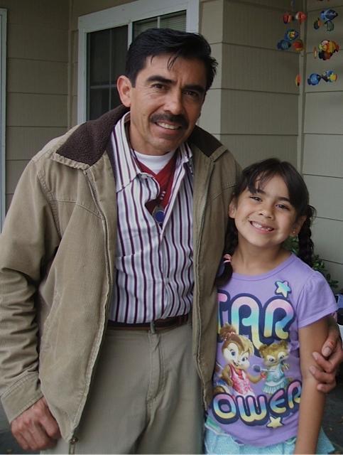 Alberto with Emily