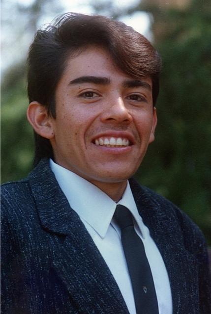 Alberto on his graduation day.