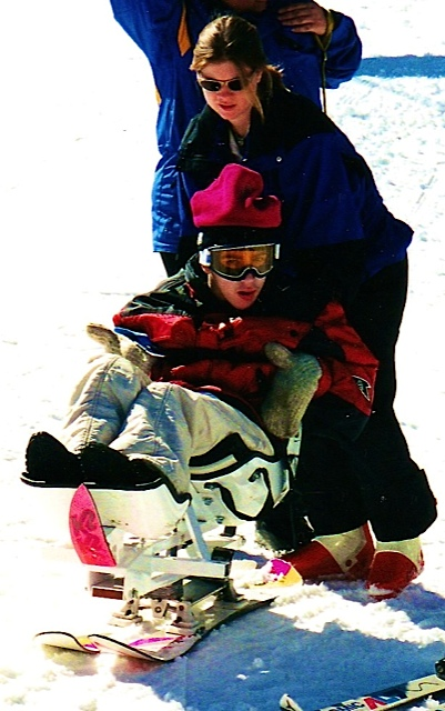 Skiing at Tahoe