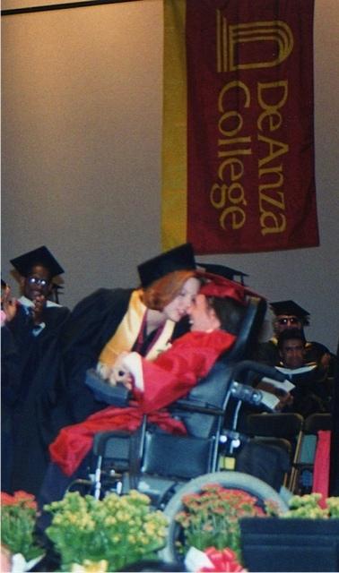 Graduation from De Anza College