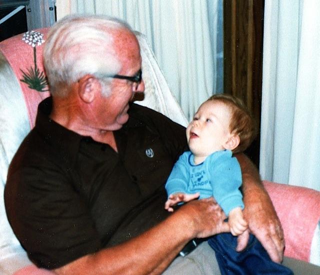 Derek meets Granddad Aiken.
