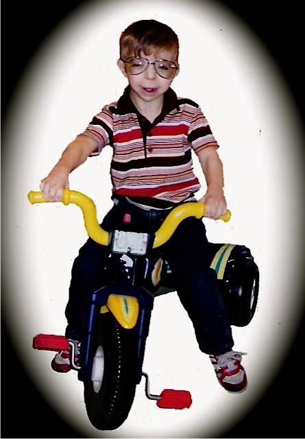 Ilan loved his trikes