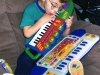 Ilan loved toys with buttons and music