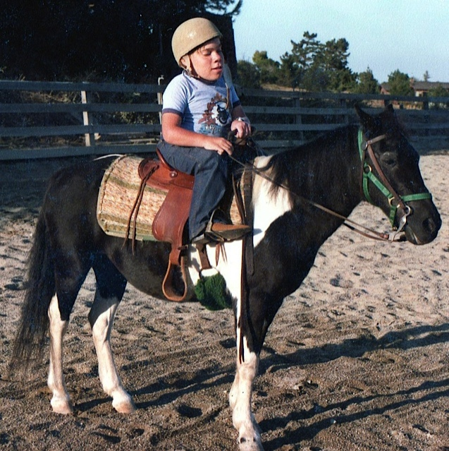 Jay enjoyed riding until his hips became a problem