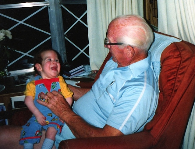 Kyle meets his new granddad