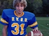 Rossie played football for the West Virginia School for the Deaf team