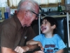 Rusty and Granddad share a laugh