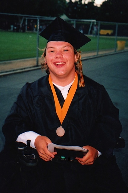 Victor's graduation day