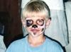 Face painting at church camp
