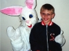 Easter bunny at school