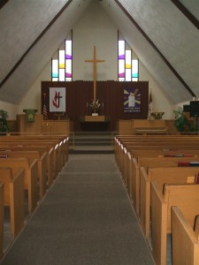 Duke Center UMC sanctuary