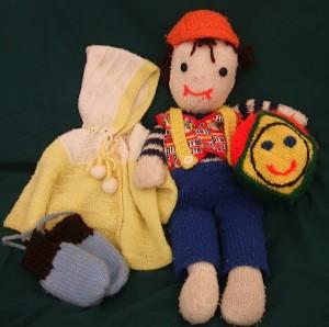 Some things Mom made for Derek
