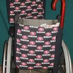 Wheelchair Bag Tote Bag