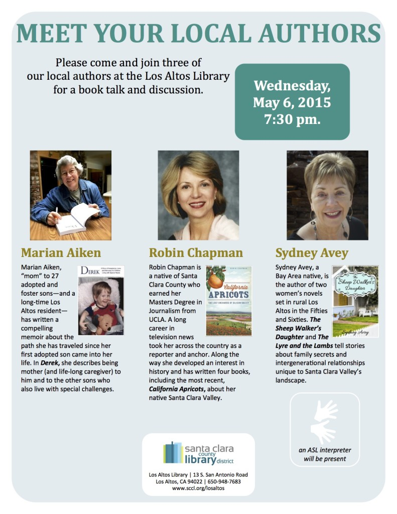 Book Signing Los Altos Library