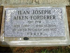 RIP Ilan Joseph Aiken-Forderer