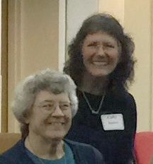Marian Aiken and Cathi Bouton
